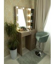 Туалетный столик 100х80 с зеркалом и подсветкой 80х60